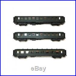 Coffret de 3 voitures A8-B10 OCEM ép III SNCF-HO-1/87-LSMODELS MW40380