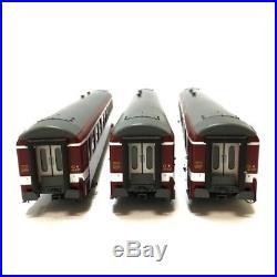 Coffret de 3 voitures A9 UIC époque IV capitole de réserve-HO-1/87-REE VB-105