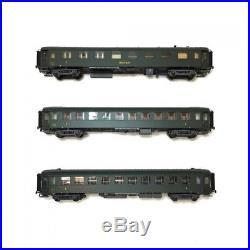 Coffret de 3 voitures B3-B10 OCEM ép III SNCF-HO-1/87-LSMODELS MW40385