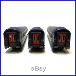 Coffret de 3 voitures B9 couchettes UIC ép V SNCF-HO-1/87-REE VB-183