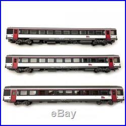 Coffret de 3 voitures Carmillon Ep VI SNCF-HO-1/87-LSMODELS 40139