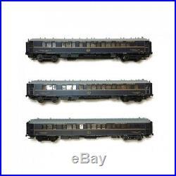 Coffret de 3 voitures S CIWL Ep II-HO 1/87-LSMODELS 49133