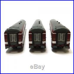 Coffret de 3 voitures UIC époque IV capitole-HO-1/87-REE VB-118