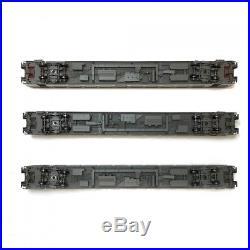 Coffret de 3 voitures corail ép VI carmillon SNCF-HO-1/87-LSMODELS 40314