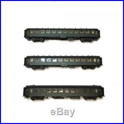 Coffret de 3 voitures époque IIb Set OCEM Etat-HO-1/87-LSMODELS MW40375