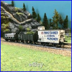 Coffret de 3 wagons de marchandises ép I-HO-1/87-MARKLIN 46066