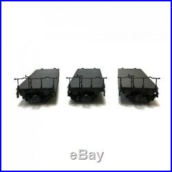 Coffret de 3 wagons plats DB chargement transformateur-HO-1/87-ROCO 76157