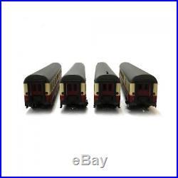 Coffret de 4 voitures TEE Rheingold DB Ep IV digital son-HO 1/87-TRIX 23485