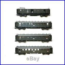 Coffret de 4 voitures de grandes lignes Ep I-HO 1/87-MARKLIN 41354