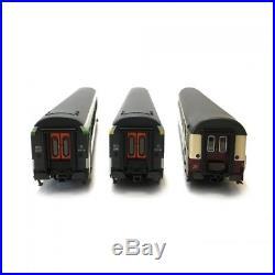 Coffret de 7 voitures B10, A10 et Avmz SNCF-DB ép IV-HO-1/87-LSMODELS MW1702