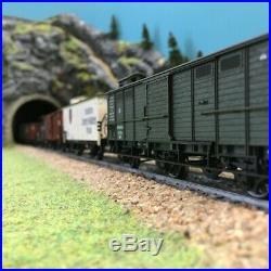 Coffret de 7 wagons de marchandises épII-HO-1/87-MARKLIN 46085 DEP138-004