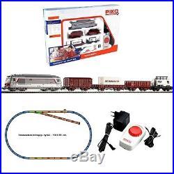 Coffret de démarrage diesel marchandises loco+3 wagons -HO-1/87-PIKO 96950