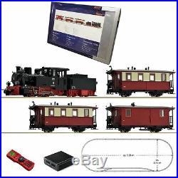 Coffret de démarrage digitale loco vapeur voyageur-HOe-1/87-ROCO 31028