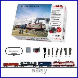 Coffret de démarrage fret CFL Cargo digitale-HO-1/87-MARKLIN 29351