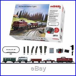 Coffret de démarrage fret diesel DB digitale-HO-1/87-MARKLIN 29711