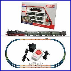 Coffret de démarrage voyageur vapeur analogique-HO-1/87-PIKO 57121