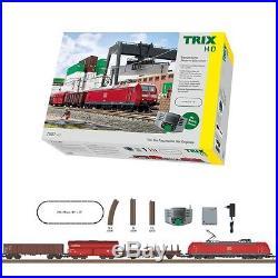 Coffret de démarrage Trafic marchandise moderne-HO-1/87-Trix 21527