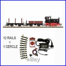 Coffret de démarrage diesel + 2 wagons train de jardin -G-1/28-LGB 70230