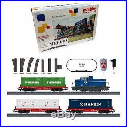 Coffret de démarrage train conteneur Mfx sound-HO-1/87-MARKLIN 29452