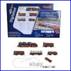 Coffret démarrage digital z21 BR 57 Vapeur + 4 Wagons DB Ep IV-HO 1/87-ROCO 5131