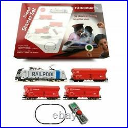Coffret digital BR 187 + wagons trémie DB-N 1/160-FLEISCHMANN 931888