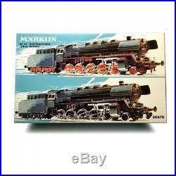 Coffret double BR 44 Final Edition ép III digital son 3R-HO-1/87-MARKLIN 30470