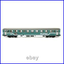 Convoi ferroutage 3 wagons + voiture HUPAC-HO 1/87-ROCO 76343