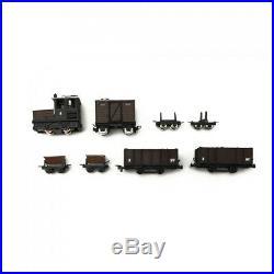 Convoi marchandise 8 éléments-HOe 1/87-EGGER BAHN DEP32-049