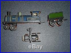 Cr Rossignol Roitel Locomotive De Plancher 1910 A Restaurer
