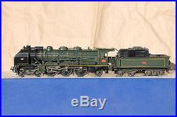 DJH jouet ancien métal locomotive vapeur 231D SNCF ETAT EST NORD PLM PO-MIDI