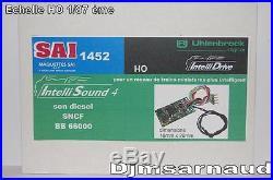 Décodeur Sonore Uhlenbrock Intelisound 4 Son Diesel SNCF BB 66000 SAI 1452