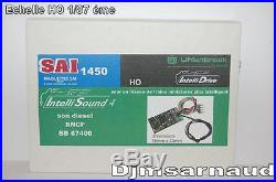 Décodeur Sonore Uhlenbrock Intellisound 4 Son de BB 67000 / 67400 SAI 1450