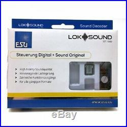 Décodeur digital Plux22 NEM658 loksound V5 sonore-ESU-58412
