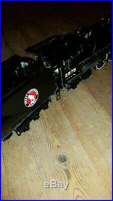 ECHELLE 1Rame US locomotive 4-8-4 VAPEUR VIVE GREAT NORTHERN RAILWAY