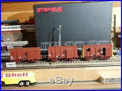 EPM 510012 Set de 3 fourgons M, V et T