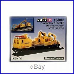 Entretien des caténaires Plasser & Theurer maquette à monter -HO-1/87-KIBRI