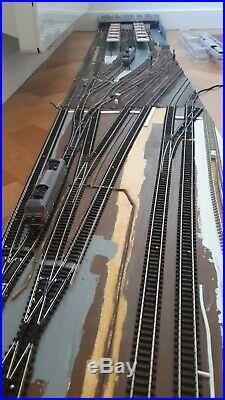 Gare échelle N (1160) extension de réseau ROCO MINITRIX PECO