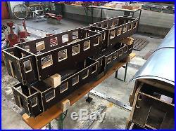 Gartenbahn Echtdampflok Umbauwagen 5 Zoll