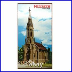 Grande église cathédrale-HO-1/87-VOLLMER 43739