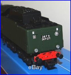Hj 2239/2243 Jouef Locomotive À Vapeur Digital Sound Sncf 241 P Neuve