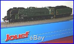 Hj 2240 Jouef Locomotive À Vapeur Sncf 241 P 28 Neuve En Boite