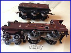 Hornby 0 Meccano Paris Locomotive Est 220 + Tender 3 Essieux Mecanique