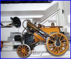 Hornby 3.5 Stephensons Rocket' Live Steam Locomotive And Tender Boxed