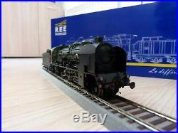 HO locomotive vapeur REE 141 E 672 Epoque III Digital sonorisé fumigéne