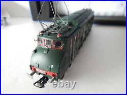 Hj 2066 Jouef Locomotive 2d2 5542 Sncf Femme Enceinte En Boite Ho