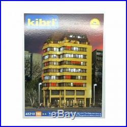 Immeuble avec éclairage led-HO-1/87-KIBRI 38218