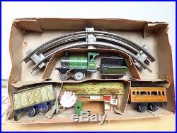 JOUET DE PARIS, JEP, J de P #, rarissime coffret train mécanique GN BO