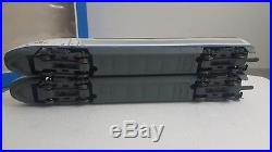 Jouef 740500 Coffret Tgv Ave Version Modeliste + 2 Voitures 594100 / 594500