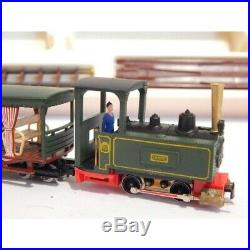 Jouef Mv02 Rare Coffret Decauville Hoe Avec Locomotive Et Wagon