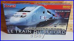 Jouef Ref Hj 1020 Coffret Tgv Record Du Monde En 5 Elements Tres Bon Etat